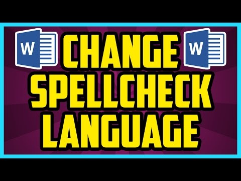 How To Change The Spell Check Language In Word 2016 (QUICK & EASY) - Word Change Proofing Language