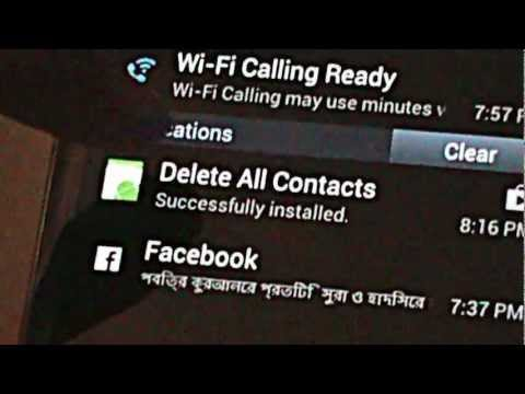 How to delete all contacts from your Samsung Galaxy S3