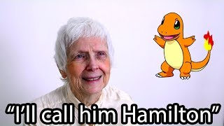 91-Year-Old Grandma Guesses Pokemon Names