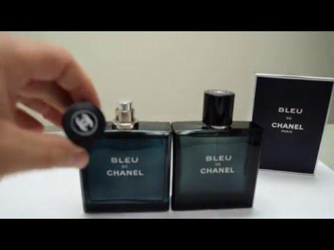Real vs Fake Bleu De Chanel