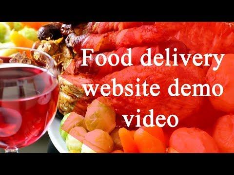 online food ordering website demo video - Foodpanda clone