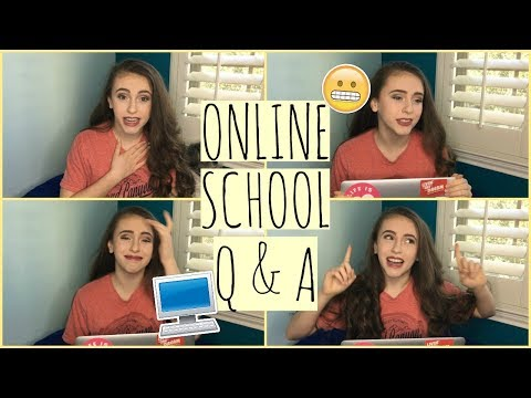Online School Q&A//LONG AND IN-DEPTH