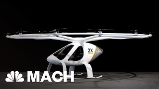 Volocopter X2 Electric Aircraft Could Revolutionize 'Air Taxi' Industry | Mach | NBC News