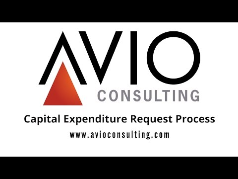 Capital Expenditure Request Process Demo