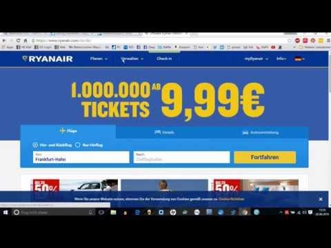 Ryanair Name ändern