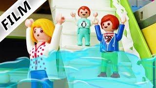 Playmobil Film deutsch | ÜBERFLUTUNG IN LUXUSVILLA - Emma will baden | Kinderserie Familie Vogel