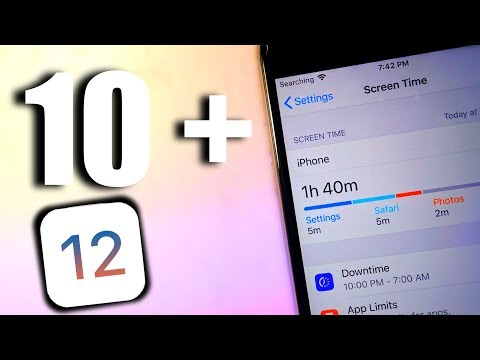 10+ NEW FEATURES AND CHANGES IN IOS 12 / NEW EPIC TRICKS + TIPS