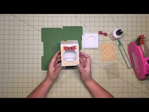 Cricut Design Space - Ornament Box How To Assemble