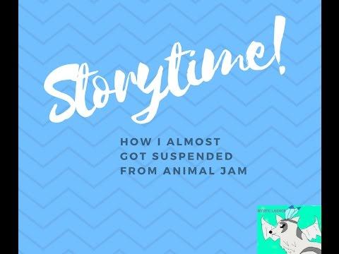 AJ Storytime - I almost got suspended from Animal Jam