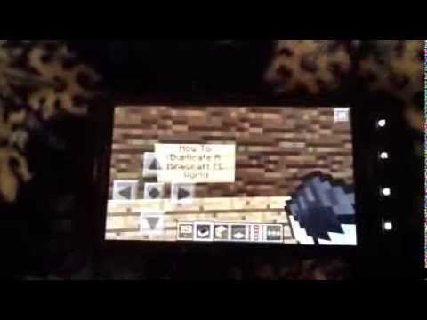 How to duplicate a Minecraft PE World