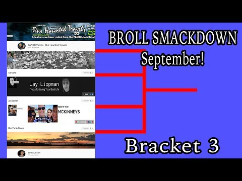 BRoll Smackdown September Prelims Bracket 3 - On the trail