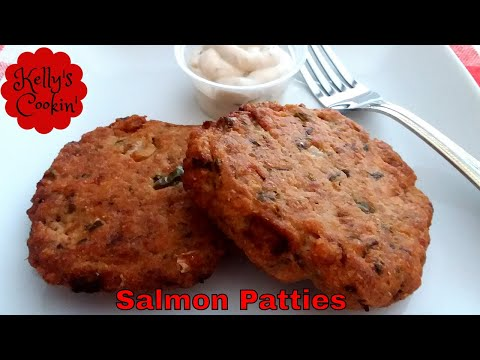 Air Fried Salmon Patties/Cakes/Croquettes Recipe-Cook's Essentials