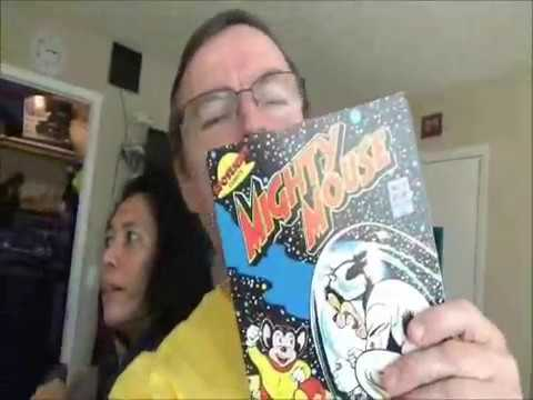 Random Access to Glorious Comics--  Ditko to Futuro Tierra