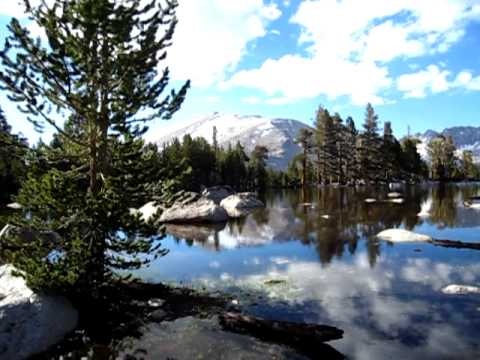 Pacific Crest Trail #4 - Unnamed Tarn in Golden Trout Wilderness