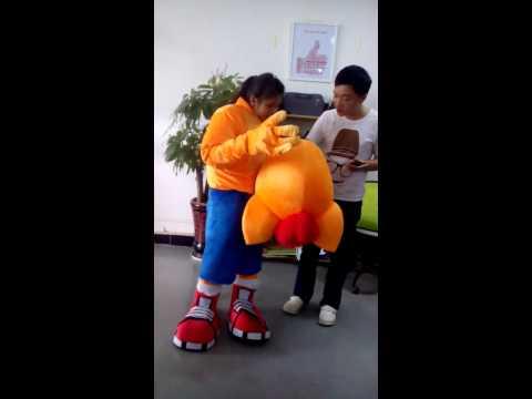 ohlees mascot costumes Crash Bandicoot Mascot Head