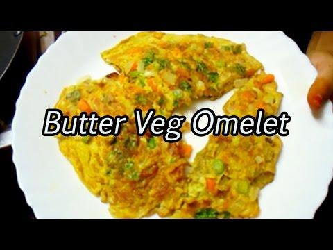 Butter Veg Omelet