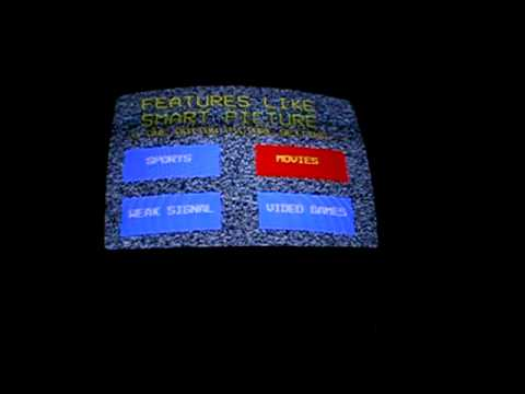 Magnavox TV demo mode
