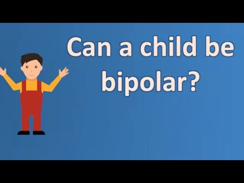 Can a child be bipolar ? | Mega Health Channel & Answers