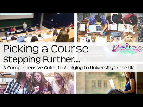 How to pick a university course. Stepping Further #7