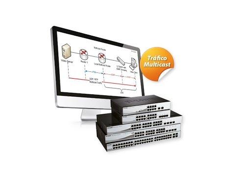 D Link Webinar: Switching para entornos con tráfico Multicast