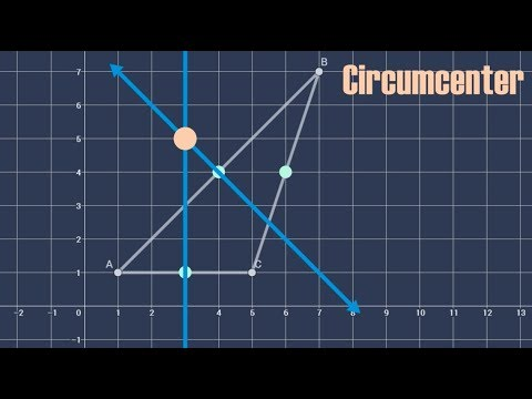 Finding the Circumcenter of an Obtuse Triangle