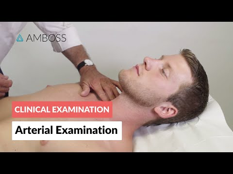 Peripheral arterial examination - Clinical examination | Δ AMBOSS
