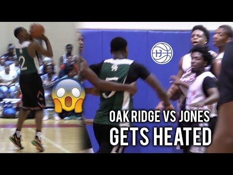 INTENSE Oak Ridge Game gets HEATED! Damon Harge, Antwann Jones, Emmitt Williams Vs Jones!