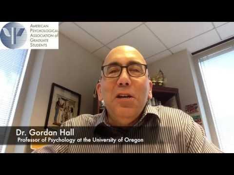 Preparing diverse students for academic careers - Gordon Nagayama Hall, PhD
