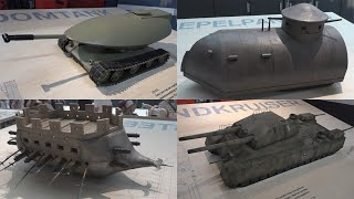 Twenty-one proto-tanks and tank concepts that never made it to battle