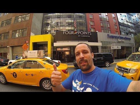 Hotel Four Points by Sheraton - Midtown Times Square - Dica de hospedagem para New York Comic Con
