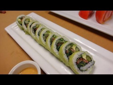 Fresh Salad Roll - How To Make Sushi Series