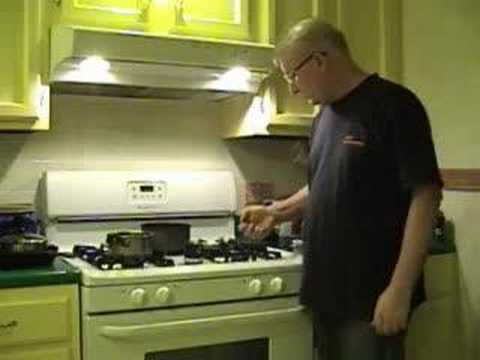How fast is an alcohol stove?