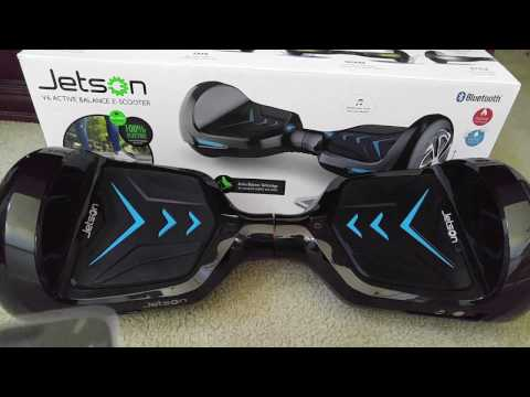 In-Depth Review Of Jetson V6 Hoverboard Bluetooth Speaker All IOS Android LED Customized HD 2016