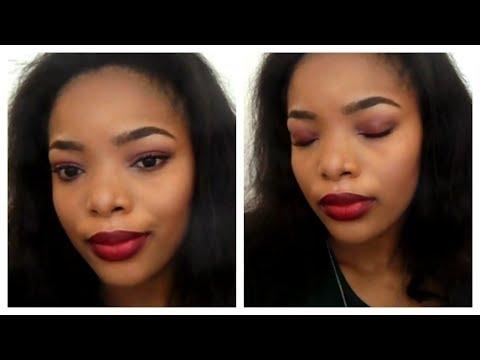 Ombre Lips + Eye shadow Makeup Tutorial | Makeup Look Tutorial
