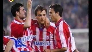 1995/96.- FC Barcelona 1 Vs. Atlético Madrid 3 (Liga - Jª 37)