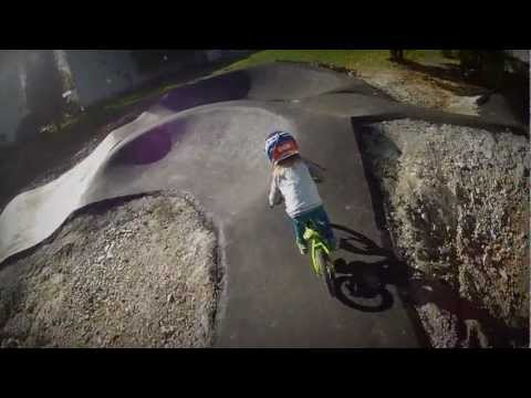 Pumptrack Segnes Chur, Switzerland, by Velosolutions