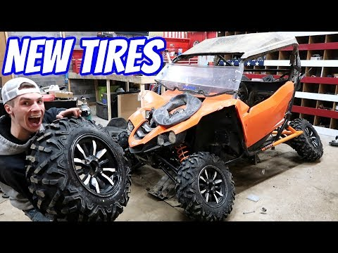 CRUSH GETS NEW TIRES!!
