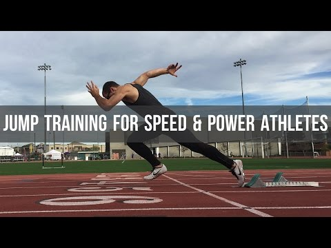 Jumps & Plyometric Training for Speed & Power Athletes - Jump higher and run faster!