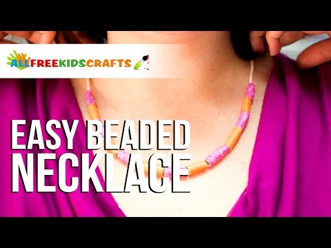 Easy Beaded Necklace