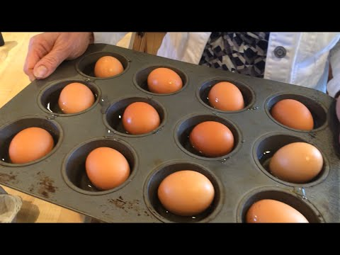 How to hard boil eggs - in the oven! A Tasty Thursday video