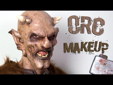 Orc Demon: Foam Latex Makeup Tutorial   Freakmo