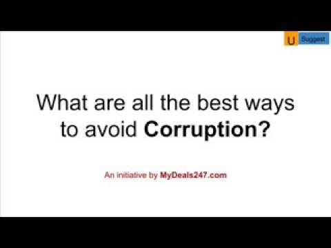 Avoid Corruption