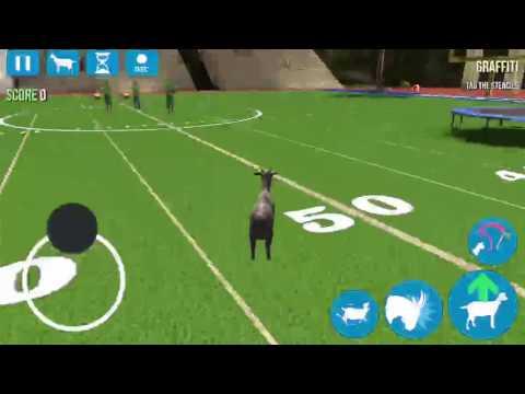 Goat Simulator - Goatville High - How to unlock Cheer Goat