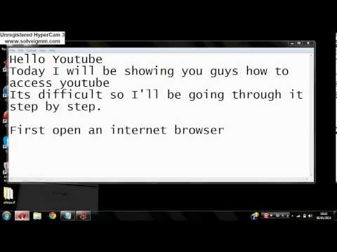 How To access YouTube with your Web Browser