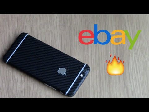 CARBON FIBRE IPHONE FROM EBAY