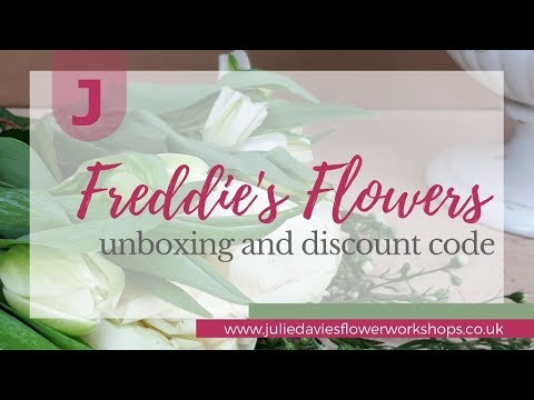 Freddie's Flowers unboxing and discount code