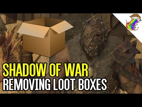 Shadow of War Removing Loot Boxes and Microtransactions
