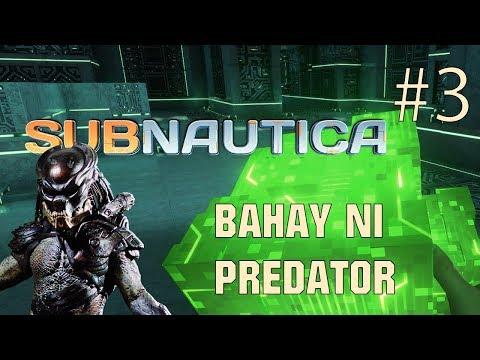 Subnautica Philippines # 3   Binisita ko ang bahay ni Predator