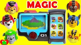 Paw Patrol Magically Change Into Mission Pups with Mission Pad