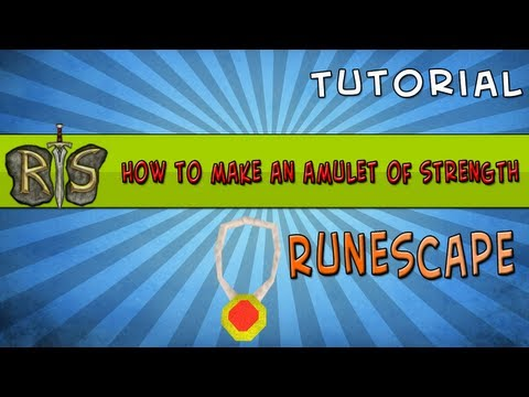RuneScape - How to make an amulet of strength - Lumbridge/Draynor task [HD]
